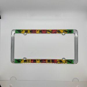 New!! Thin Vietnam Veteran License Plate Frame